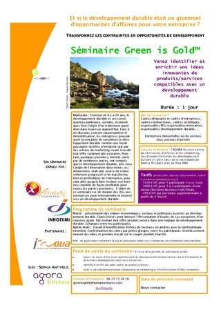 Séminaire Green is Gold plaquette_1