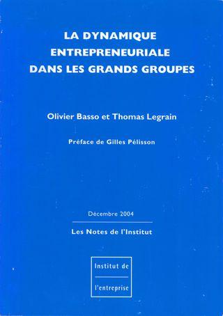 Couverture étude idep 2004
